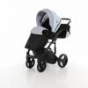 Детская коляска 2 в 1 Tako Junama Geographic 03 Серо-голубая (13-JG03) - Фото №5