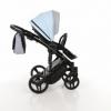 Детская коляска 2 в 1 Tako Junama Geographic 03 Серо-голубая (13-JG03) - Фото №6