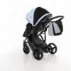Детская коляска 2 в 1 Tako Junama Geographic 03 Серо-голубая (13-JG03) - Фото №7