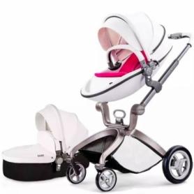 Универсальная коляска 2 в 1 Hot Mom Белая (HM559976) - Фото №3