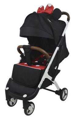Детская прогулочная коляска Yoya Plus 3 минни Черная (54545)