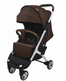 Детская прогулочная коляска Yoya Plus 3 Коричневая (96517)