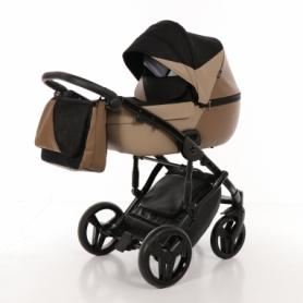 Детская коляска 2 в 1 Tako Junama Geographic 01 Коричневая (13-JG01)