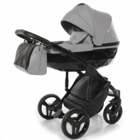 Детская коляска 2 в 1 Tako Junama Diamond 07 Светло-серая (13-JD07)