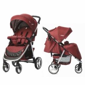 Коляска прогулочная CARRELLO Unico CRL-8507 Красная (21-CRL-8507-6)
