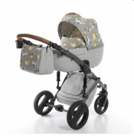 Детская коляска 2 в 1 Tako Junama Cosatto Skylark Серая (13-JCSl)