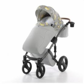 Детская коляска 2 в 1 Tako Junama Cosatto Skylark Серая (13-JCSl) - Фото №5