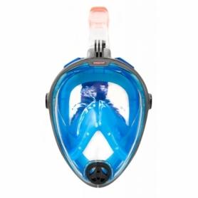 Маска полнолицевая с трубкой Aqua Speed Spectra L/XL Сине-черная (aqs008)