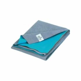 Коврик-полотенце для йоги Bodhi Ятра 183 х 60 х 0.1 см Бирюзовый (yatra-towel-mat-turquoise)