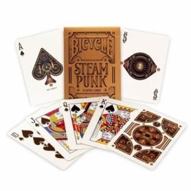 Карты для игры в покер USPCC Bicycle Steampunk Gold (krut_0675)
