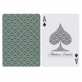 Карты для игры в покер USPCC Madison Dealers Green (krut_0718)
