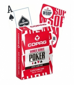 Карты для игры в покер Cartamundi Copag WSOP Красные (krut_0695_2)