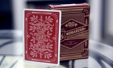 Карты для игры в покер Theory11 Monarch Red (krut_0727)
