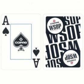 Карты для игры в покер Cartamundi Copag WSOP Черные (krut_0695_1) - Фото №2