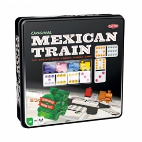 Игра настольная Мексиканский Поезд в жестяной коробке (Mexican Train)