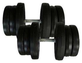 Гантели наборные композитные Newt Rock Pro-R 2 шт по 21,5 кг