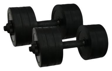 Гантели обрезиненные Newt PL 2 шт по 18,5 кг