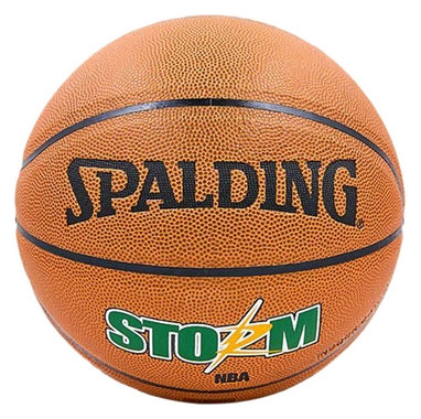 Мяч баскетбольный Spalding 74413 Storm PU № 7 (SP74413)