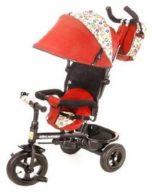 Велосипед детский 3х колесный Tobi Venture, красный (115002/red)