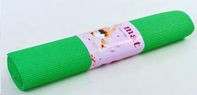Коврик для фитнеса Pro Supra Yoga Mat зеленый 4 мм - Фото №3
