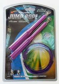Скакалка скоростная Pro Supra CM-J601-PRPL, фиолетовая
