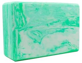 Йога-блок мультиколор Record FI-5164-GRN, зеленый