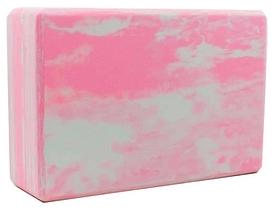 Йога-блок мультиколор Record FI-5164-PK, розовый