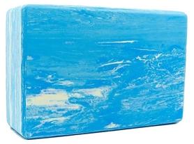 Йога-блок мультиколор Record FI-5164-BL, синий
