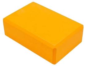 Йога-блок Pro Supra FI-5736-OR, оранжевый