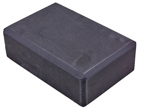 Йога-блок Pro Supra FI-5736-BLK, черный