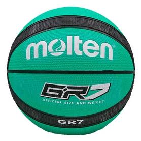 Мяч баскетбольный Molten GR7 № 7 BGR7-GK-SH, зеленый