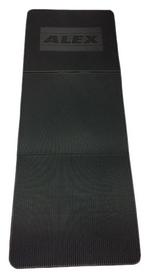 alex Коврик для йоги (йога-мат) Alex, серый (FT-EM-EVA135-LLS)