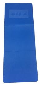alex Коврик для йоги (йога-мат) Alex, синий (FT-EM-EVA135B-LLS)