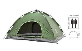 Палатка двухместная автомат Mountain Outdoor SY-A02-O, зеленая