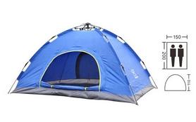 Палатка двухместная автомат Mountain Outdoor SY-A02-BL, синяя
