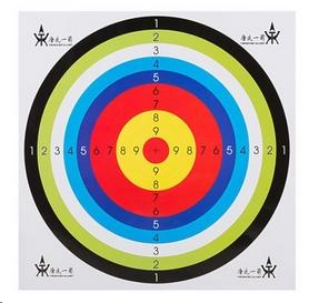 Мишень для стрельбы бумажная ZLT 40 см