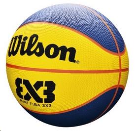 Распродажа*! Мини-мячик баскетбольный Wilson FIBA 3x3 Mini BBall SS19 №3 (WTB1733XB) - Фото №2