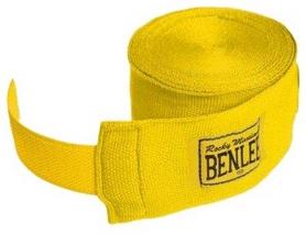 Бинт боксерский BenLee - желтый, 300 см (195002)