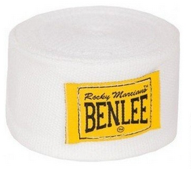 Бинт боксерский BenLee - белый, 300 см (195002)