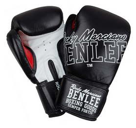 Перчатки боксерские Benlee Rockland 199189 (blk/white)