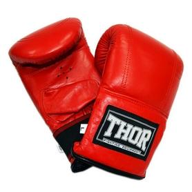 Перчатки снарядные Thor 605 (Leather) RED
