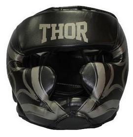 Шлем боксерский Thor Cobra 727 (Leather) BLK - черный
