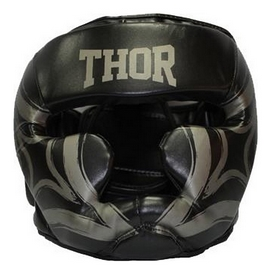 Шлем боксерский Thor Cobra 727 (PU) BLK - черный