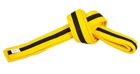Пояс для кимоно Combat Budo BO-7261 - желто-черный