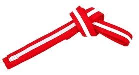 Пояс для кимоно Combat Budo BO-7264 - красно-белый