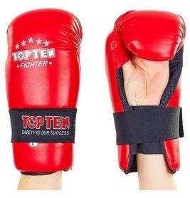 Перчатки для тхэквондо PU Top Ten MA-5474-R - красные
