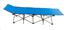 Раскладушка туристическая World Sport HY-8001-2, 187х66х37 см синяя