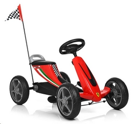 Распродажа*! Веломобиль Bambi Ferrari 8931E-3 - Фото №5