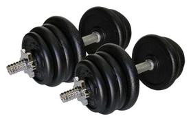 Гантели наборные стальные 2 шт по 27,5 кг Newt Home (TI-968-745-27-2)
