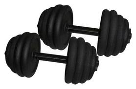 Гантели наборные стальные Newt 2 шт по 18,5 кг (NE-300-GP019-2)